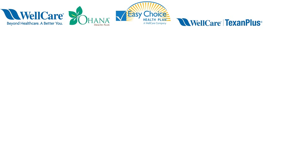 Wellcare Ohana Easy Choice Let S Get Started